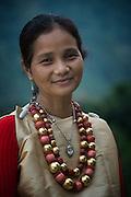 Khasi woman<br /> Nongriat, Khasi Hills<br /> Meghalaya, ne India<br /> Range: South China, NE India, Burma