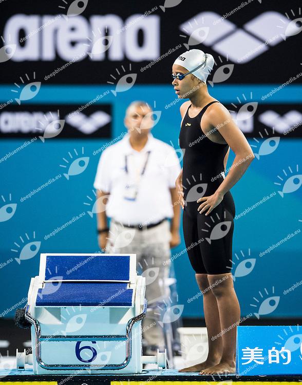 MUTETI Emily KEN<br /> Women's 100m Freestyle<br /> Doha Qatar 04-12-2014 Hamad Aquatic Centre, 12th FINA World Swimming Championships (25m). Nuoto Campionati mondiali di nuoto in vasca corta.<br /> Photo Giorgio Scala/Deepbluemedia/Insidefoto