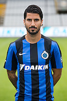 Club's Lior Refaelov poses for the photographer during the 2015-2016 season photo shoot of Belgian first league soccer team Club Brugge, Friday 17 July 2015 in Brugge