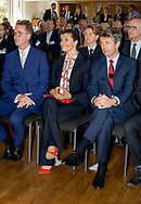 Stockholm, 29-05-2017 <br /> <br /> Crown Prince Frederik and Crown Princess Mary of Denmark visit Crown Princess Victoria and Prince Daniel on the occasion of Liveable Scandinavia.<br /> <br /> Seminar about Sustainable Cities<br /> <br /> COPYRIGHT: ROYALPORTRAITS EUROPE/ BERNARD RUEBSAMEN