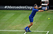 Roger Federer during the Mercedes Cup at Tennisclub Weissenhof, Stuttgart<br /> Picture by EXPA Pictures/Focus Images Ltd 07814482222<br /> 08/06/2016<br /> *** UK &amp; IRELAND ONLY ***<br /> EXPA-EIB-160608-0096.jpg