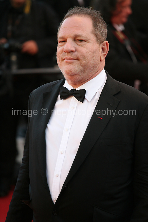 Harvey Weinstein at The Immigrant film gala screening at the Cannes Film Festival Friday 24th May May 2013