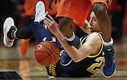 NCAA Basketball - Illinois Fighting Illini vs Michigan Wolverines - Champaign, Illinois