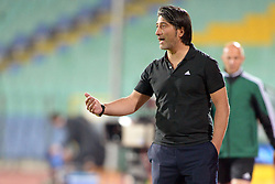 21.08.2013, Nationalstadion, Sofia, BUL, UEFA CL Play off, PFC Ludogorez Razgrad vs FC Basel, Hinspiel, im Bild Trainer Murat Yakin (Basel) // during the UEFA Champions League, Play off first leg match between PFC Ludogorez Razgrad and FC Basel at Nationalstadium in Sofia, Bulgaria on 2013/08/21. EXPA Pictures © 2013, PhotoCredit: EXPA/ Freshfocus/ Andy Mueller<br /> <br /> ***** ATTENTION - for AUT, SLO, CRO, SRB, BIH only *****