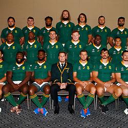20,09,2019 South Africa Springbok Team Photo