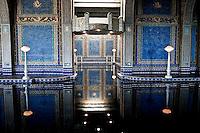 The Indoor Roman Pool Reflection - Hearst Castle, San Simeon, California