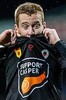 ROTTERDAM - Excelsior - Willem II , Voetbal , Eredivisie , Seizoen 2016/2017 , Stadion Woudestein , 25-02-2017 , Excelsior speler Mike van Duinen loopt teleurgesteld van het veld