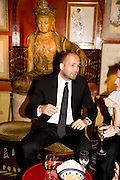MAX WIGRAM, Richard Prince opening at the Serpentine gallery and afterwards at Annabels. London. 25 June 2008 *** Local Caption *** -DO NOT ARCHIVE-© Copyright Photograph by Dafydd Jones. 248 Clapham Rd. London SW9 0PZ. Tel 0207 820 0771. www.dafjones.com.
