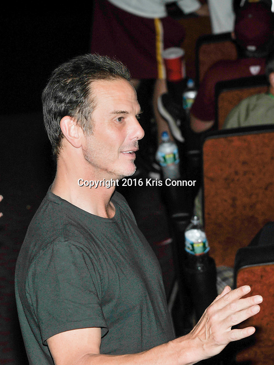 RICHMOND, VA - AUG 13:  Director Peter Berg attends a special screening for the Washington Redskins football team of Lions Gate Entertainment's new movie Deepwater Horizon at Bow Tie Cinema on August 13, 2016 in Richmond, Va. (Photo by Kris Connor for Lions gate Entertainment)