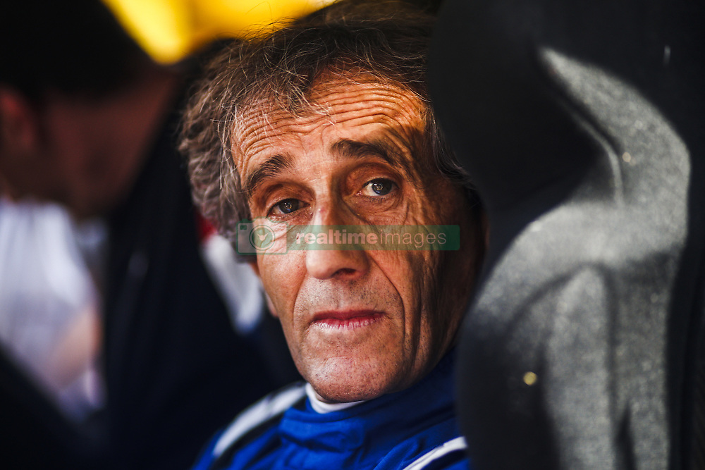 May 25, 2018 - Montecarlo, Monaco - Alain Prost portrait  during the Monaco Formula One Grand Prix  at Monaco on 25th of May, 2018 in Montecarlo, Monaco. (Credit Image: © Xavier Bonilla/NurPhoto via ZUMA Press)