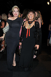 Left to right, BRIX SMITH START and HILARY ALEXANDER at the annual Collars & Coats Gala Ball in aid of Battersea Dogs & Cats Home held at Battersea Evolution, Battersea Park, London on 11th November 2011.