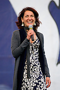 2013/05/23 Roma, il Movimento 5 Stelle chiude la campagna elettorale per le comunali. Nella foto Carla Ruocco..Rome, M5S (five stars movement) closes his electoral campaign for mayor. In the picture Carla Ruocco - © PIERPAOLO SCAVUZZO