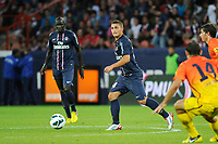 FOOTBALL - FRIENDLY GAMES 2012/2013 - TROPHEE DE PARIS - PARIS SAINT GERMAIN v FC BARCELONA - 04/08/2012 - PHOTO JEAN MARIE HERVIO / REGAMEDIA / DPPI - MARCO VERRATTI (PSG)