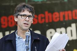 Martin Donat, Vorsitzender der Bürgerinitiative Umweltschutz Lüchow-Dannenberg<br /> <br /> Ort: Gorleben<br /> Copyright: Andreas Conradt<br /> Quelle: PubliXviewinG