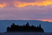 Storm light on Pakwash Lake<br /> Pakwash Lake Provincial Park<br /> Ontario<br /> Canada