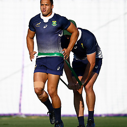 SHIZUOKA, JAPAN - SEPTEMBER 30: Cheslin Kolbe during the South African national rugby team training session at Nexta Training Field on September 30, 2019 in Shizuoka, Japan. (Photo by Steve Haag/Gallo Images)