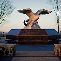 Monmouth County's 9/11 Memorial at the Mount Mitchell Scenic Overlook is a tribute to 147 men and women who lost their lives in the terrorist attacks of September 11, 2001-- men and women born, raised, or residing at the time in Monmouth County.