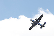 2012 - B-25 bombers fly-over the National Museum of the US Air Force in Dayton, Ohio