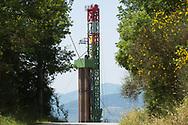 Viggiano, 13/06/2015: Postazione ENI Monte Enoc 5 - Drilling site ENI Enoc 5