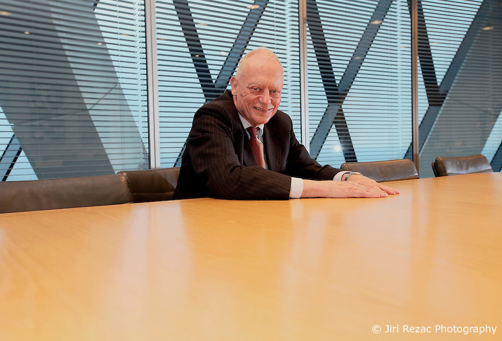 UK ENGLAND LONDON 8FEB17 - Sir Gerry Grimstone, chairman of Standard Life during an interview at the company's HQ at the Gherkin building, City of London, England.<br /> <br /> jre/Photo by Jiri Rezac<br /> <br /> &copy; Jiri Rezac 2017