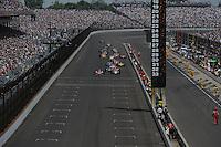 Scott Dixon, Indianapolis 500, Indianapolis Motor Speedway, Indianapolis, IN USA 5/29/2011