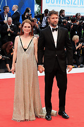 Suburbicon premiere at the 74th Venice Film Festival. 02 Sep 2017 Pictured: VENICE, ITALY - SEPTEMBER 02: Bart Freundlich and Julianne Moore walk the red carpet ahead of the 'Suburbicon' screening during the 74th Venice Film Festival at Sala Grande on September 2, 2017 in Venice, Italy. Photo credit: MEGA TheMegaAgency.com +1 888 505 6342