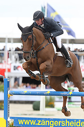 Clemens Pieter, BEL, Horizon de Regor<br /> Final Belgium Championships<br /> Zangersheide FEI World Cup Breeding Jumping<br /> © Hippo Foto - Dirk Caremans<br /> 15/09/18