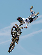 Adam Jones at the FMX Finals at the AST Dew Tour Right Guard Open in Cleveland...Photo by Ken Blaze