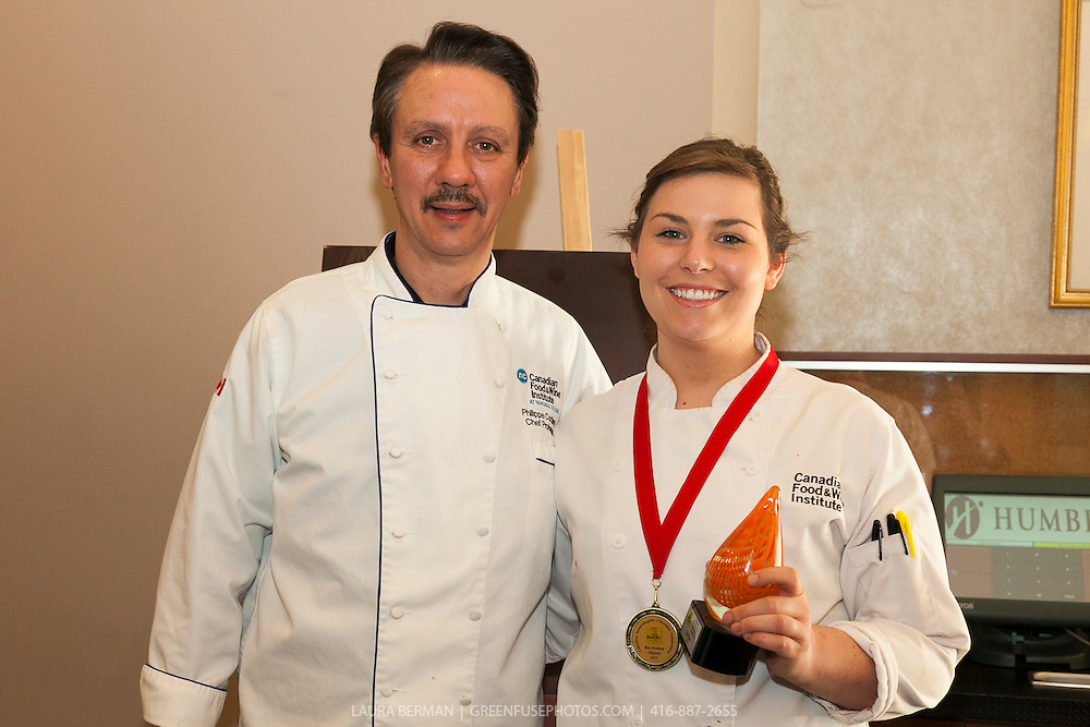 Canadian Intercollegiate Chocolate Competition April 13- 14, 2013