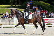 Christina Konig - Mona Lisa VII<br /> FEI European Dressage Championships for Young Riders and Juniors 2013<br /> © DigiShots