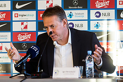 Igor Benedejcic during press conference of Slovenian Football Association, on November 8th, 2018 in NNC Brdo pri Kranju, Slovenia.  Photo by Grega Valancic / Sportida