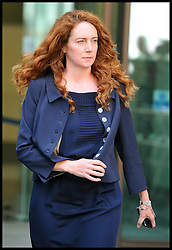 Former News of the World Editor and Former News International chief executive Rebekah Brooks leaves Westminster Magistrates' Court after appearing in court on phone hacking charges, Monday September 3, 2012 Photo Andrew Parsons/i-Images
