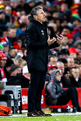 Leicester City manager Claude Puel - Mandatory by-line: Robbie Stephenson/JMP - 30/01/2019 - FOOTBALL - Anfield - Liverpool, England - Liverpool v Leicester City - Premier League