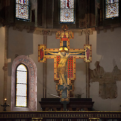 Lisa Johnston | lisajohnston@archstl.org Crucifix in the Basilica of St. Clare.