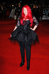 Jane Goldman attends The Woman in Black - World Premiere held at the Royal Festival Hall, London, Tuesday January 25, 2012. Photo By i-Images