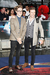 © Licensed to London News Pictures. 12/06/2013. London, UK. Tom Fletcher; Danny Jones; McFly;  Man of Steel European Film Premiere, Leicester Square London UK, 12 June 2013. Photo credit : Richard Goldschmidt/Piqtured/LNP