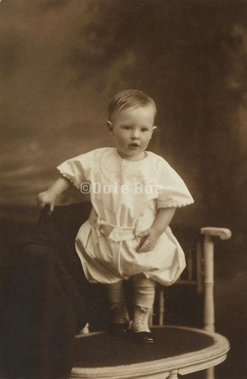 formal portrait of a little child.