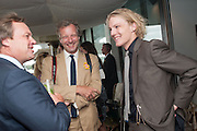 MARQUESS OF MILFORD HAVEN; HUGO BURNAND; FERGUS BURNAND, Ladies Day, Glorious Goodwood. Goodwood. August 2, 2012