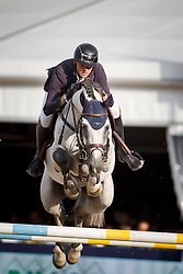 Wathelet Gregory, (BEL), Mjt Nevados S <br /> 7 years of age<br /> FEI World Breeding Jumping Championships<br /> Lanaken 2015<br /> © Hippo Foto - Dirk Caremans<br /> 20/09/15