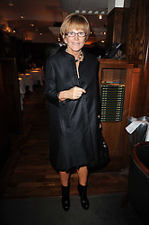 ANNE ROBINSON at 'Heavenly Ivy' a play to commemorate 20 years of The Ivy Restaurant, held at The Ivy, West Street, London on 8th November 2010.