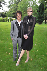 SOPHIE DAHL and JAMIE CULLUM  at the Raisa Gorbachev Foundation fourth annual fundraising gala dinner held at Stud House, Hampton Court, Surrey on 6th June 2009.