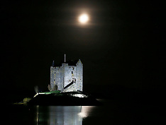 Moonlit Castle Stalker | Loch Linnie | 5 January 2017
