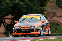 #16 Jason Burgess MG ZR 190 during the The John Woods Motorcars MG Trophy Championship at Oulton Park, Little Budworth, Cheshire, United Kingdom. September 03 2016. World Copyright Peter Taylor/PSP.