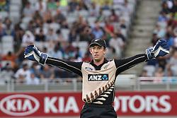 February 17, 2017 - Auckland, New Zealand - Luke Ronchi of New Zealand during international Twenty20 cricket match between South Africa and New Zealand. (Credit Image: © Shirley Kwok/Pacific Press via ZUMA Wire)
