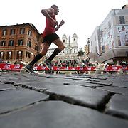 Roma 02/04/2017 <br /> Maratona di Roma 2017<br /> il passaggio a Piazza di Spagna