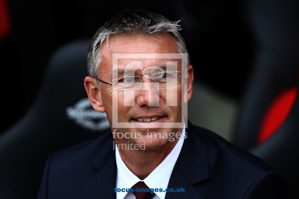Picture by Daniel Chesterton/Focus Images Ltd +44 7966 018899.28/10/2012.Southampton manager Nigel Adkins during the Barclays Premier League match at the St Mary's Stadium, Southampton.