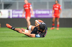 Onehunga Havili of Exeter Braves scores his sides third try- Mandatory by-line: Nizaam Jones/JMP - 22/04/2019 - RUGBY - Sandy Park Stadium - Exeter, England - Exeter Braves v Saracens Storm - Premiership Rugby Shield