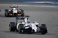 MASSA Felipe (Bra) Williams F1 Mercedes Fw36 Action during the 2014 Formula One World Championship, Grand Prix of Bahrain on April 6, 2014 in Sakhir, Bahrain. Photo François Flamand / DPPI