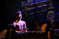 Gamelan orchestra performance at the Bali Spirit Festival, 22/3/2013.