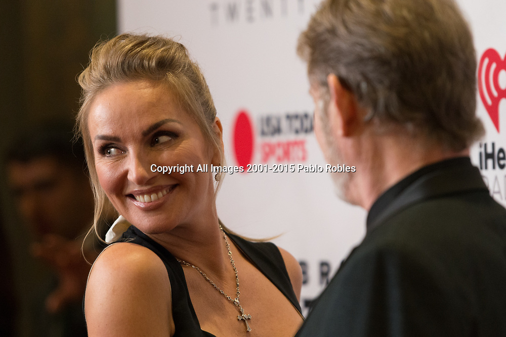 Eva Halina Rich and Christopher Rich attend the Celebrity Fight Night event on March 23, 2019 in Scottsdale, AZ.